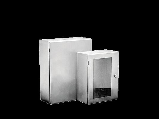 Caixas de alumínio